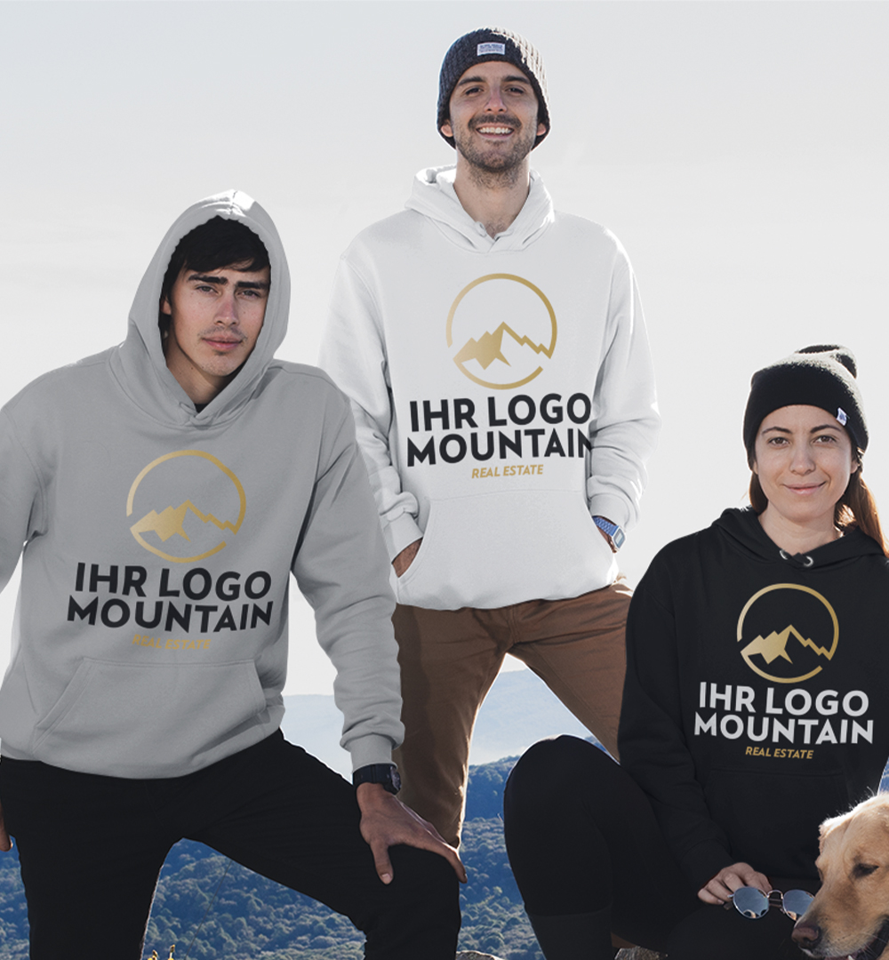 Team Hoodies Logo Print - Unisex