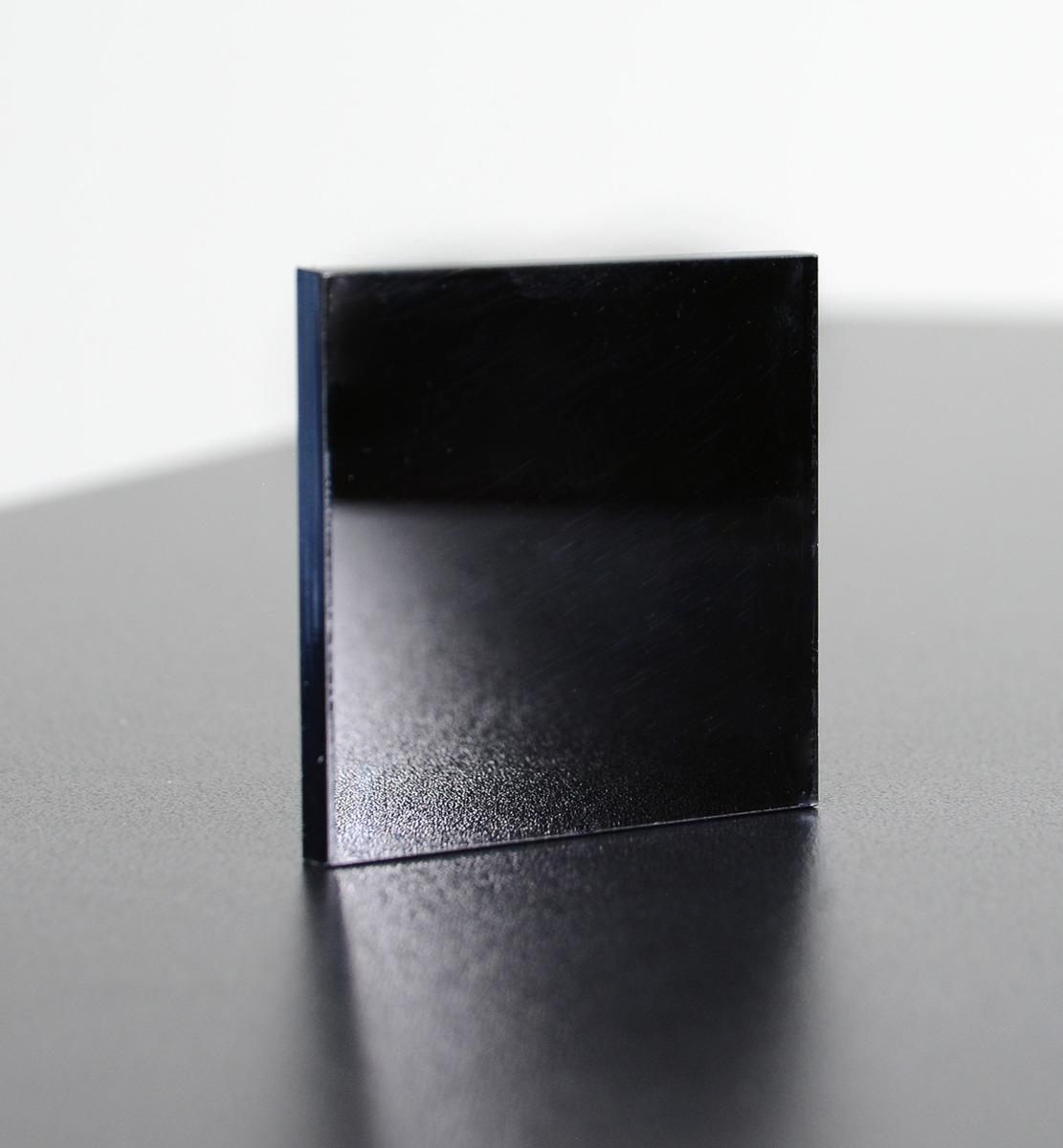 Acrylglassplatte schwarz - Live 2