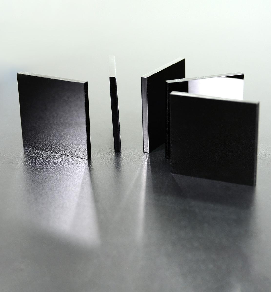 Acrylglassplatte schwarz - Live