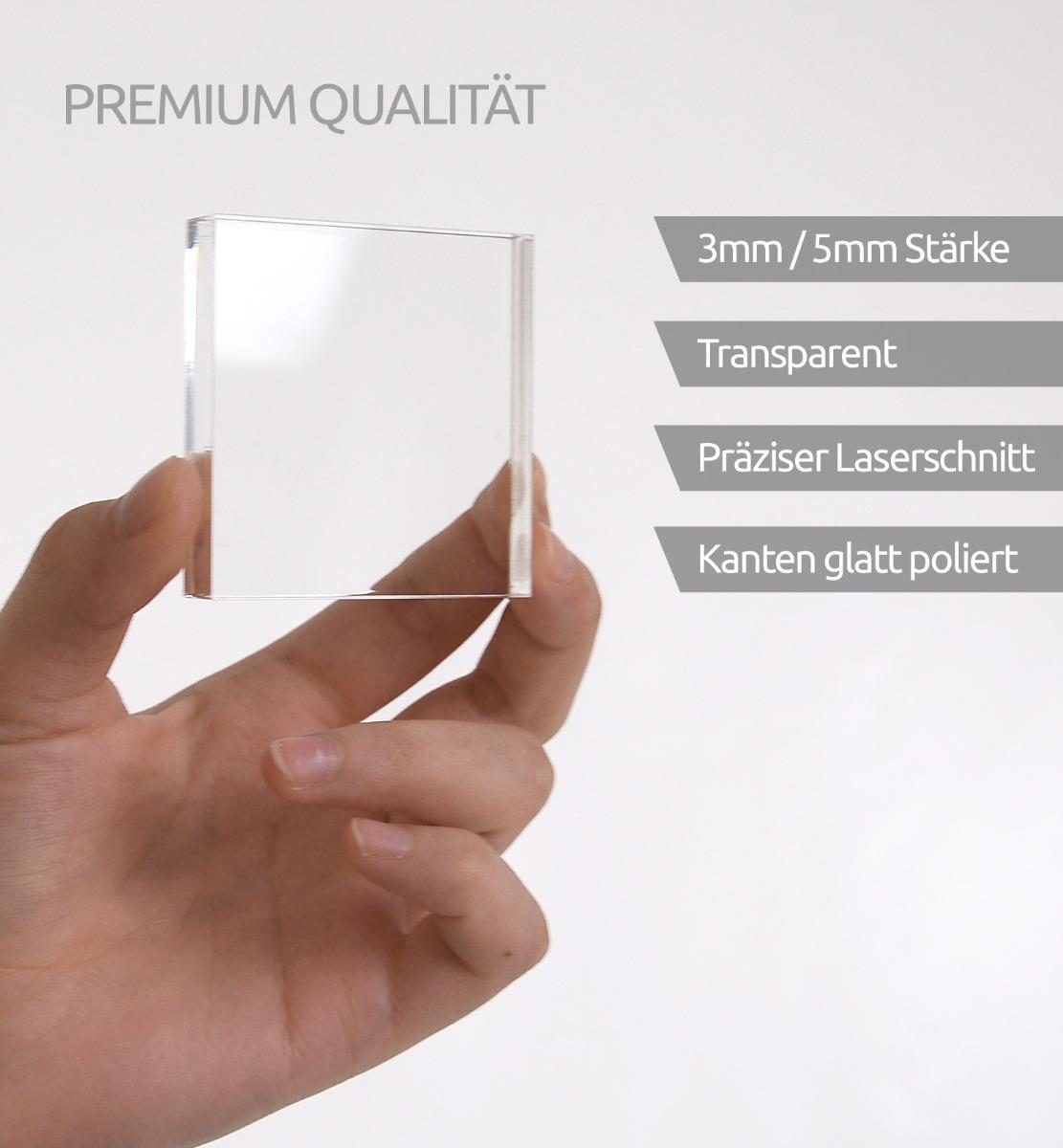 Acrylglasplatte - Vorteile
