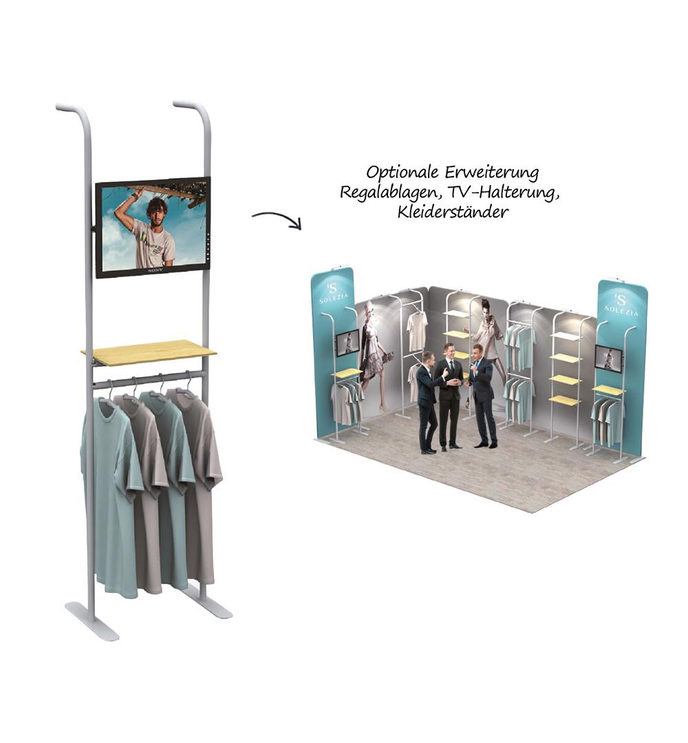 Faltwand Textil Evolution Straight Plus - Application Erweiterung