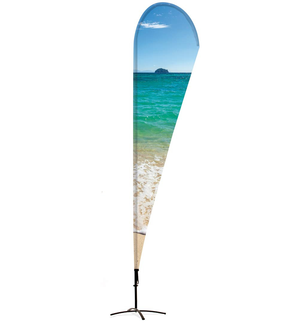 Beachflag ohne Besatzband
