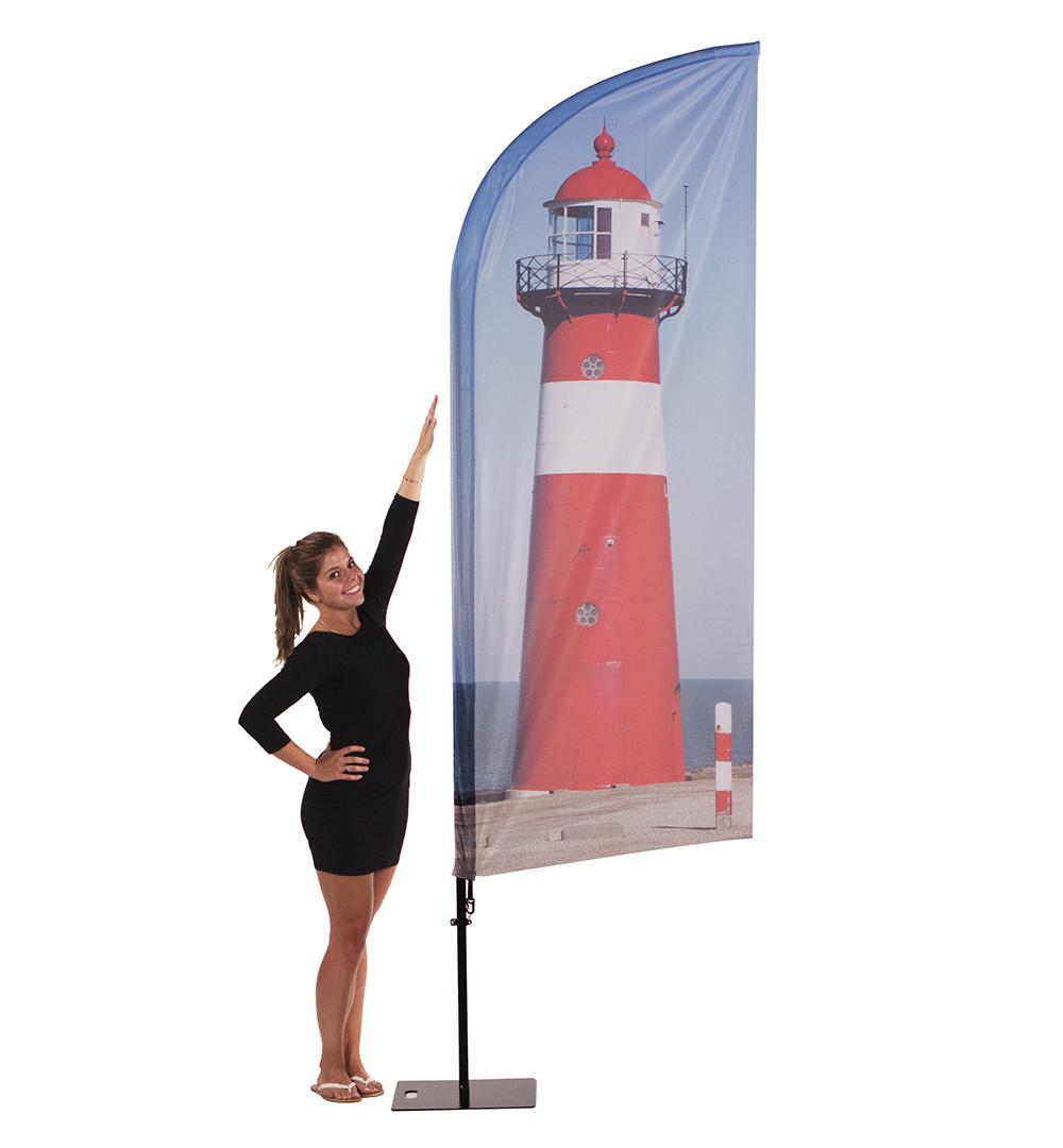 Messeset 307 - Beachflag Wind