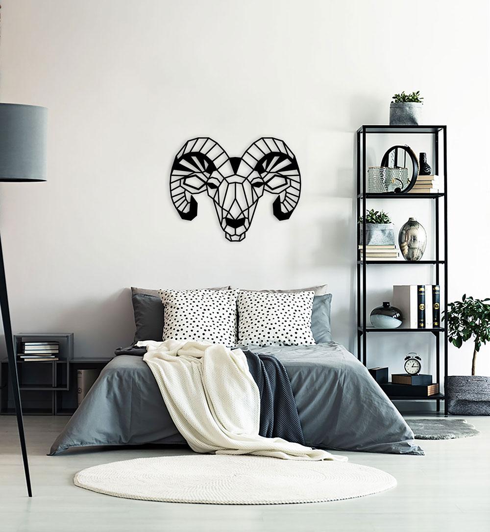 Wall Art Acryl Polygon Bock