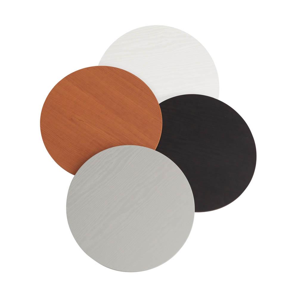 Messeset 001 - Rundtheke Thekenplattenfarben