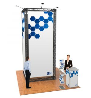 Messestand Traverse S9 Form - live