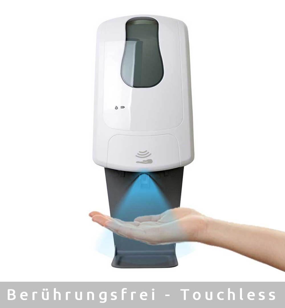 Desinfektionsständer Q Thermo mit Sensor Touchless