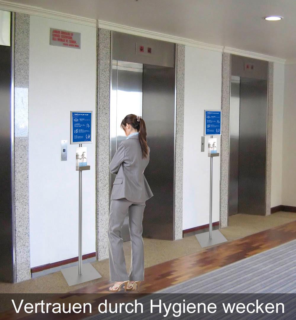 Desinfektionsständer Klassik Vetrauen