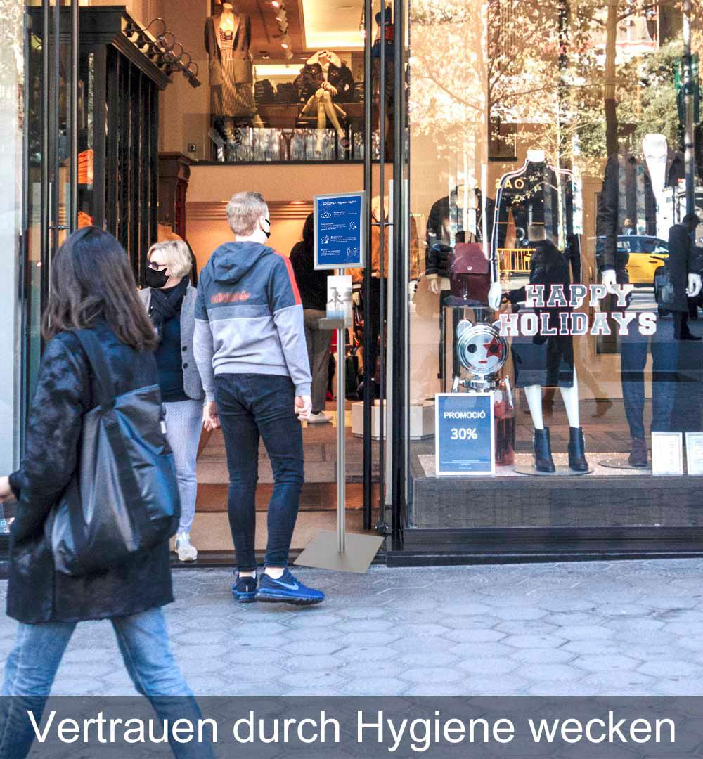 Desinfektionsständer Klassik Vetrauen Einkaufen