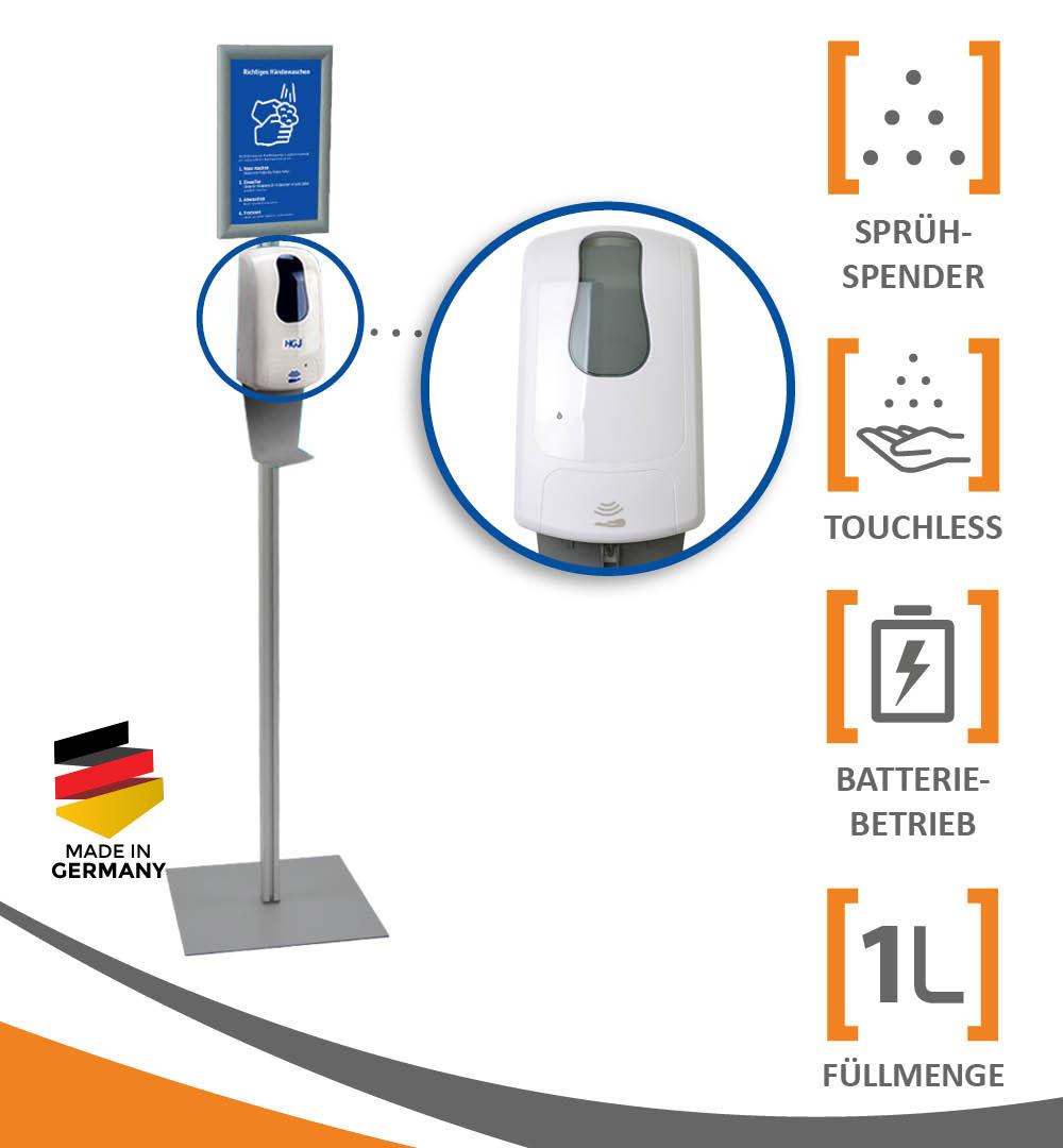 Desinfektionsständer Q mit Sensor