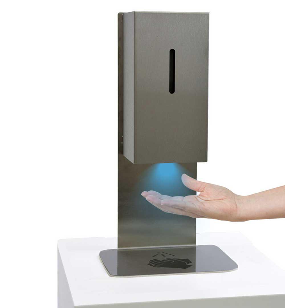Desinfektionsständer Steel für Tisch & Tresen