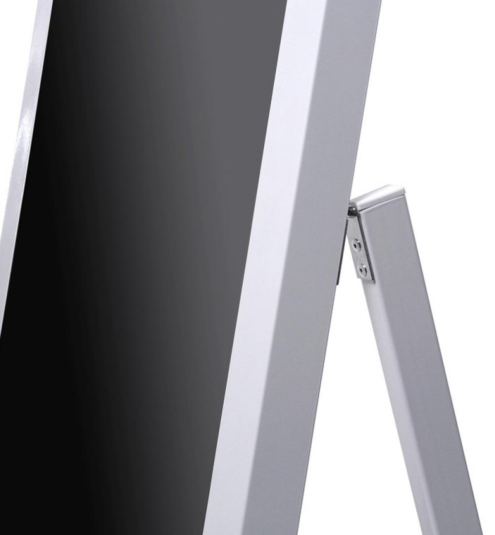 Digital Signage Kundenstopper Eco - Detail oben
