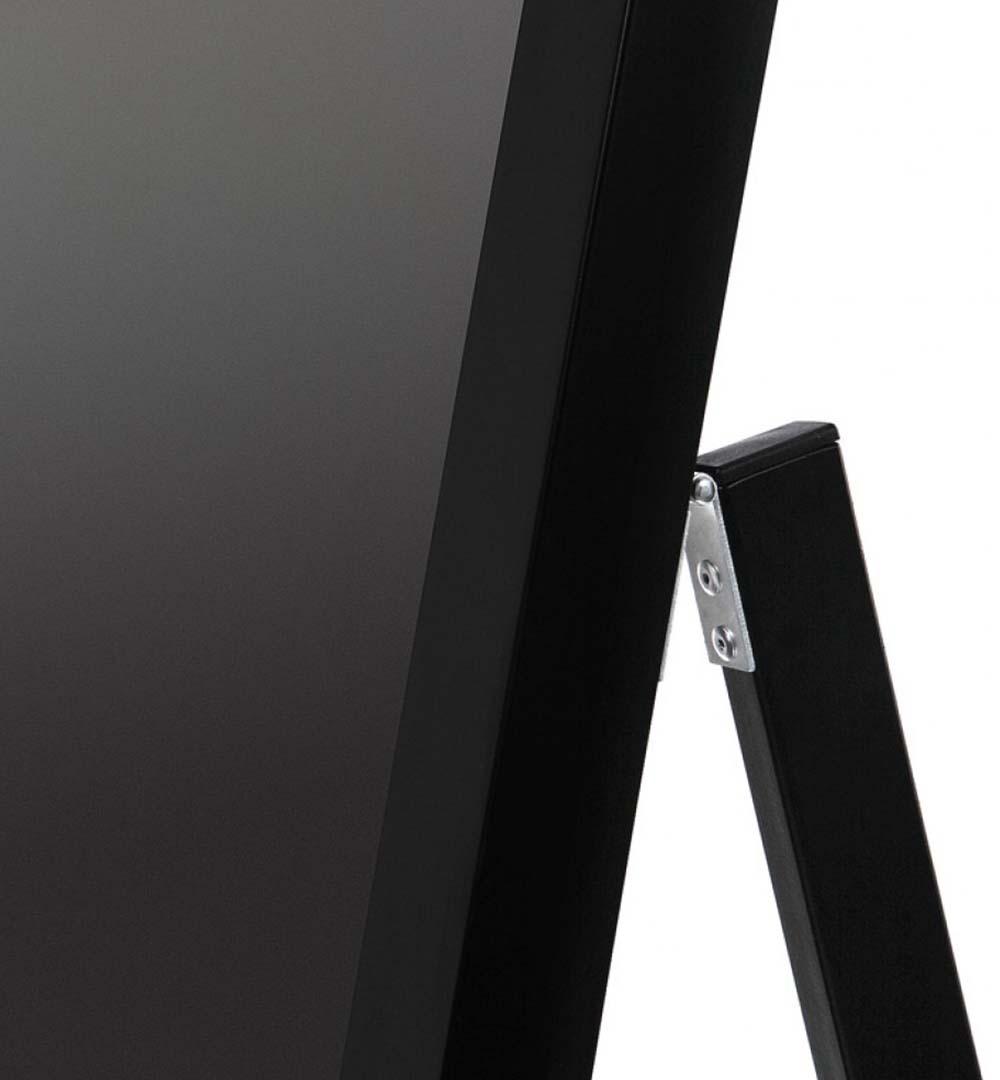 Digital Signage Kundenstopper Eco - schwarz Detail