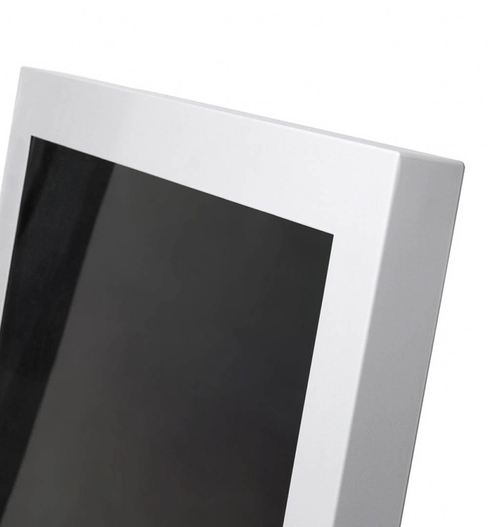 Digital Signage Kundenstopper Eco - oben Detail