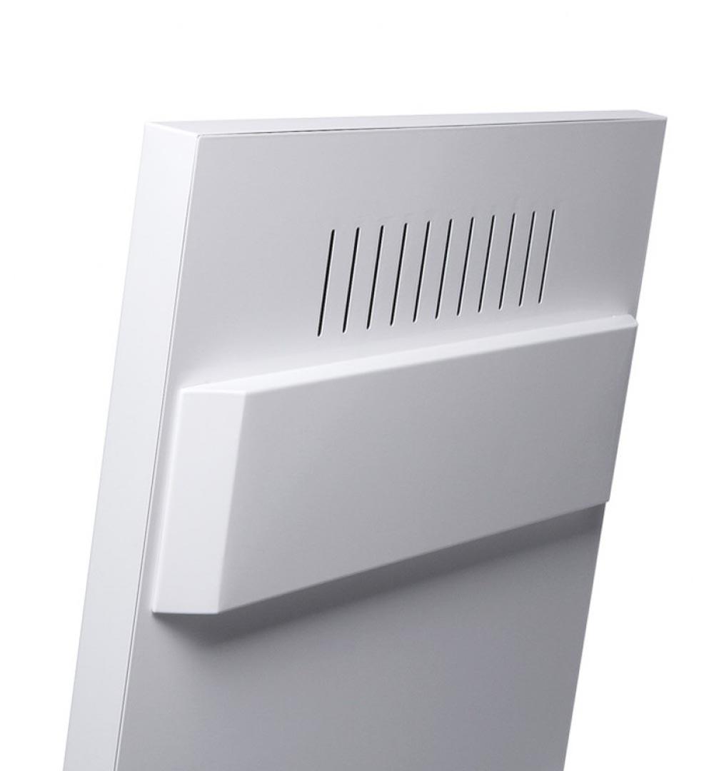 Digital Signage Kundenstopper Eco - hinten Detail