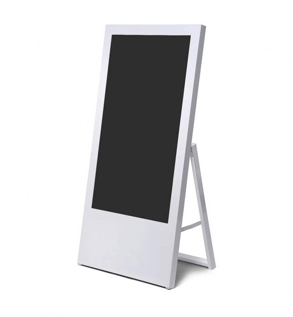 Digital Signage Kundenstopper Eco