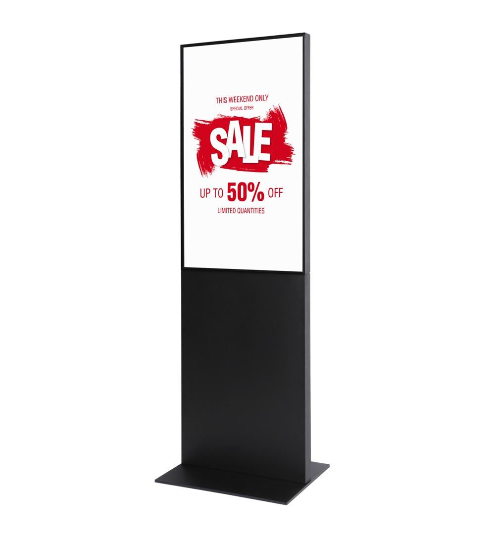 Digital Signage Werbesäule Smart