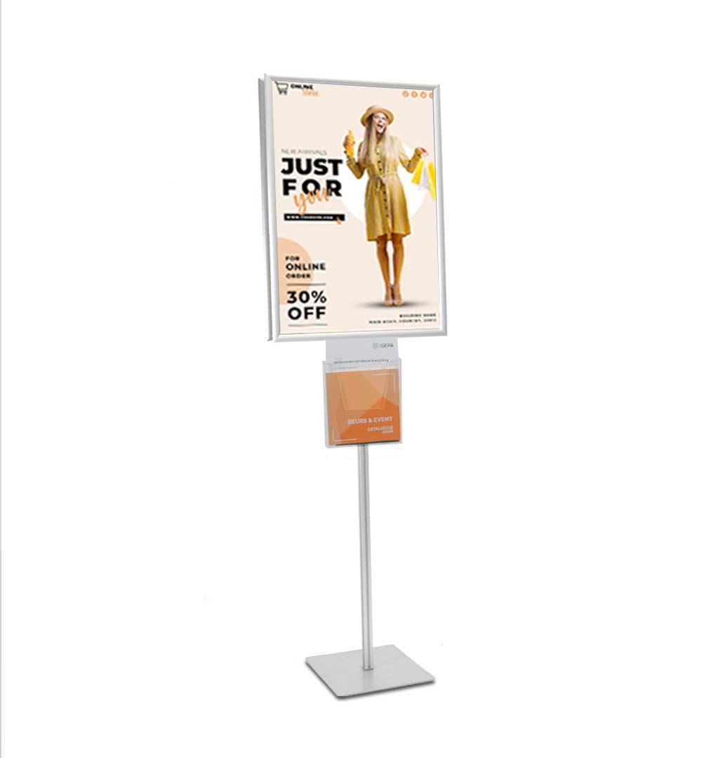 Plakatständer Shop Prospekthalter A4 einfach