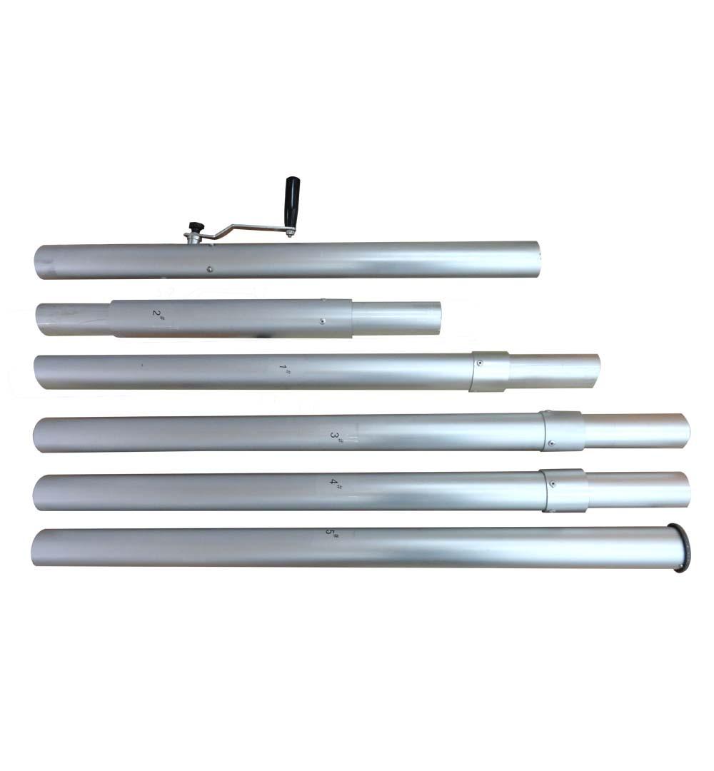 Sternzelt 10x5 - Stange