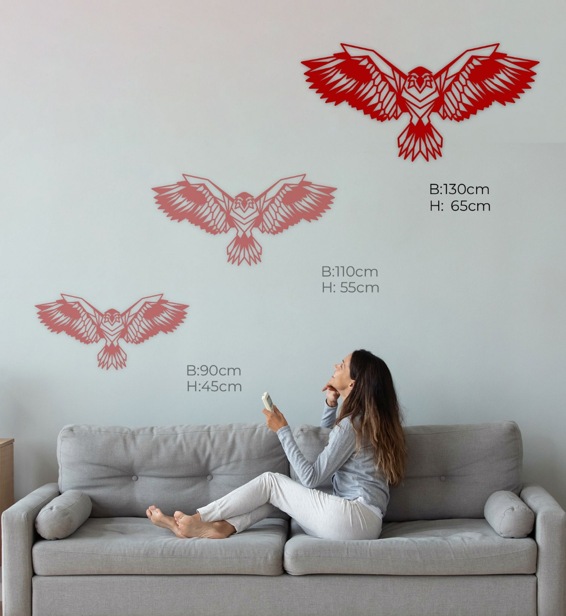 Wall Art Acryl Adler