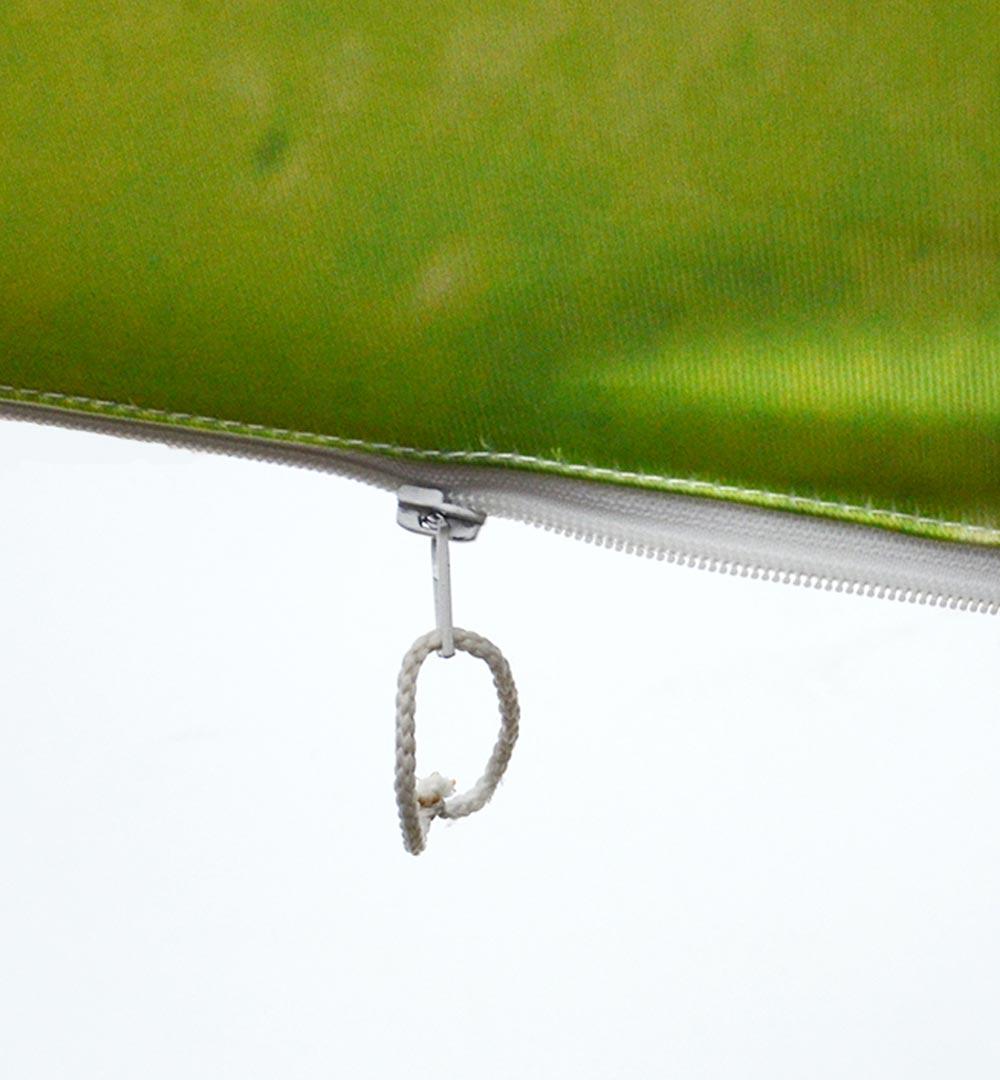 Faltwand Textil Evolution Curved - Druck mit Reißverschluss