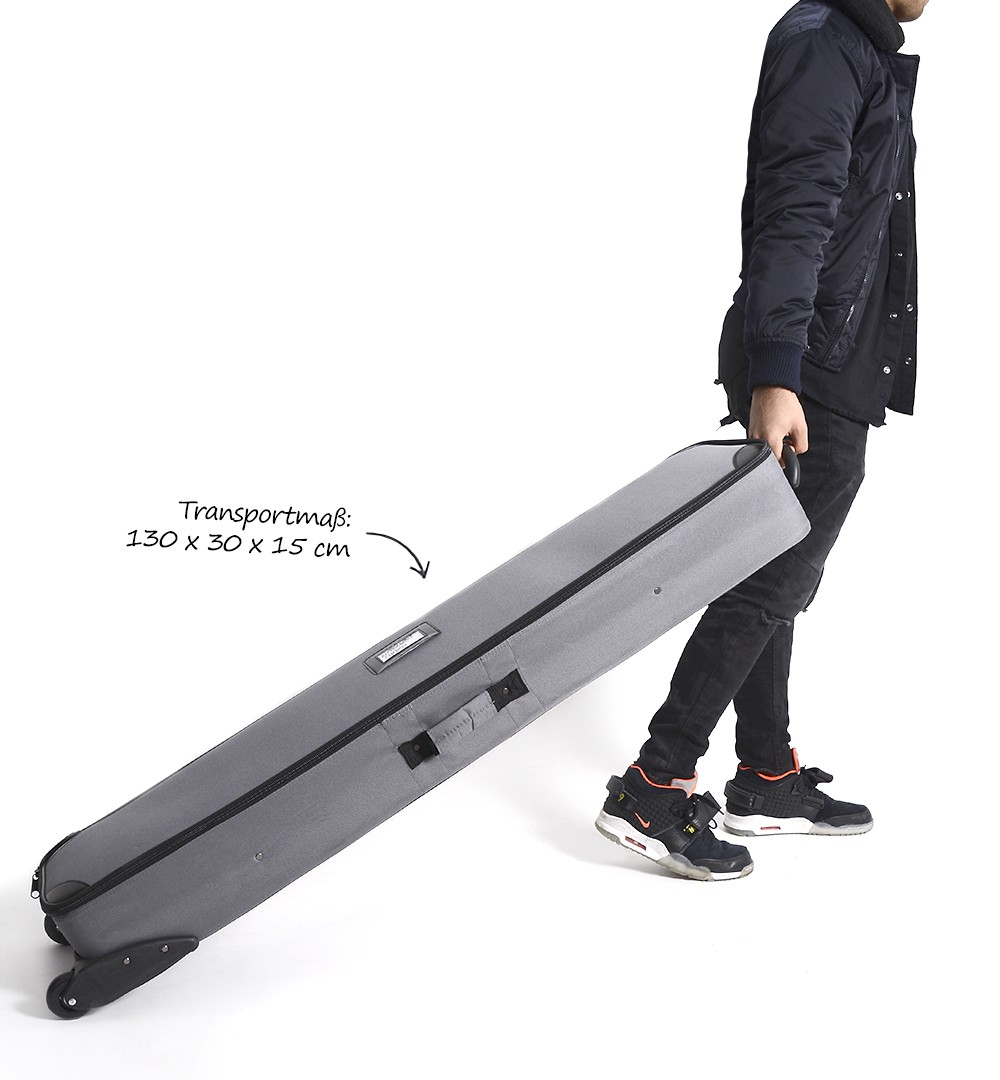 Faltwand Textil Evolution Straight Plus - Trolley