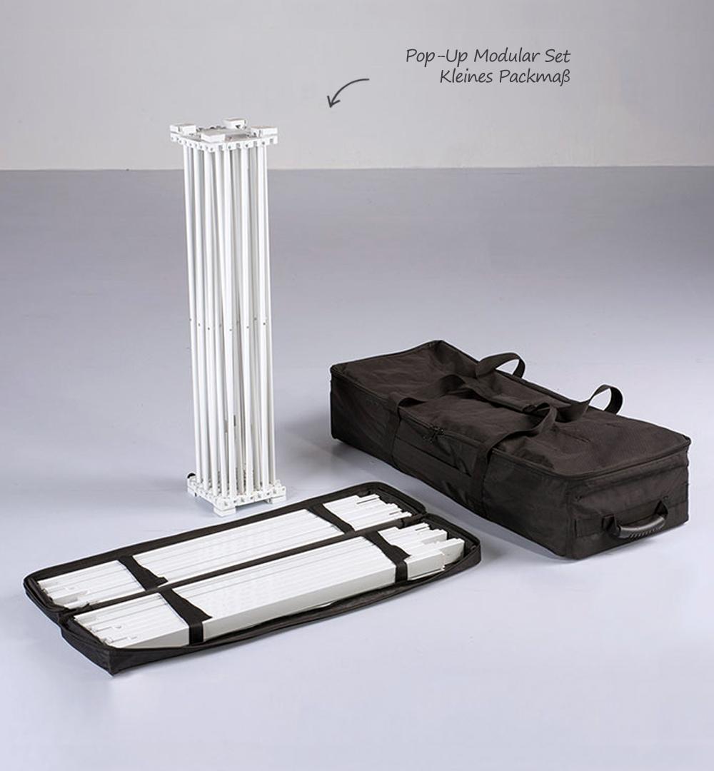 Messestand Faltdisplay Pop-Up MODULAR - Set