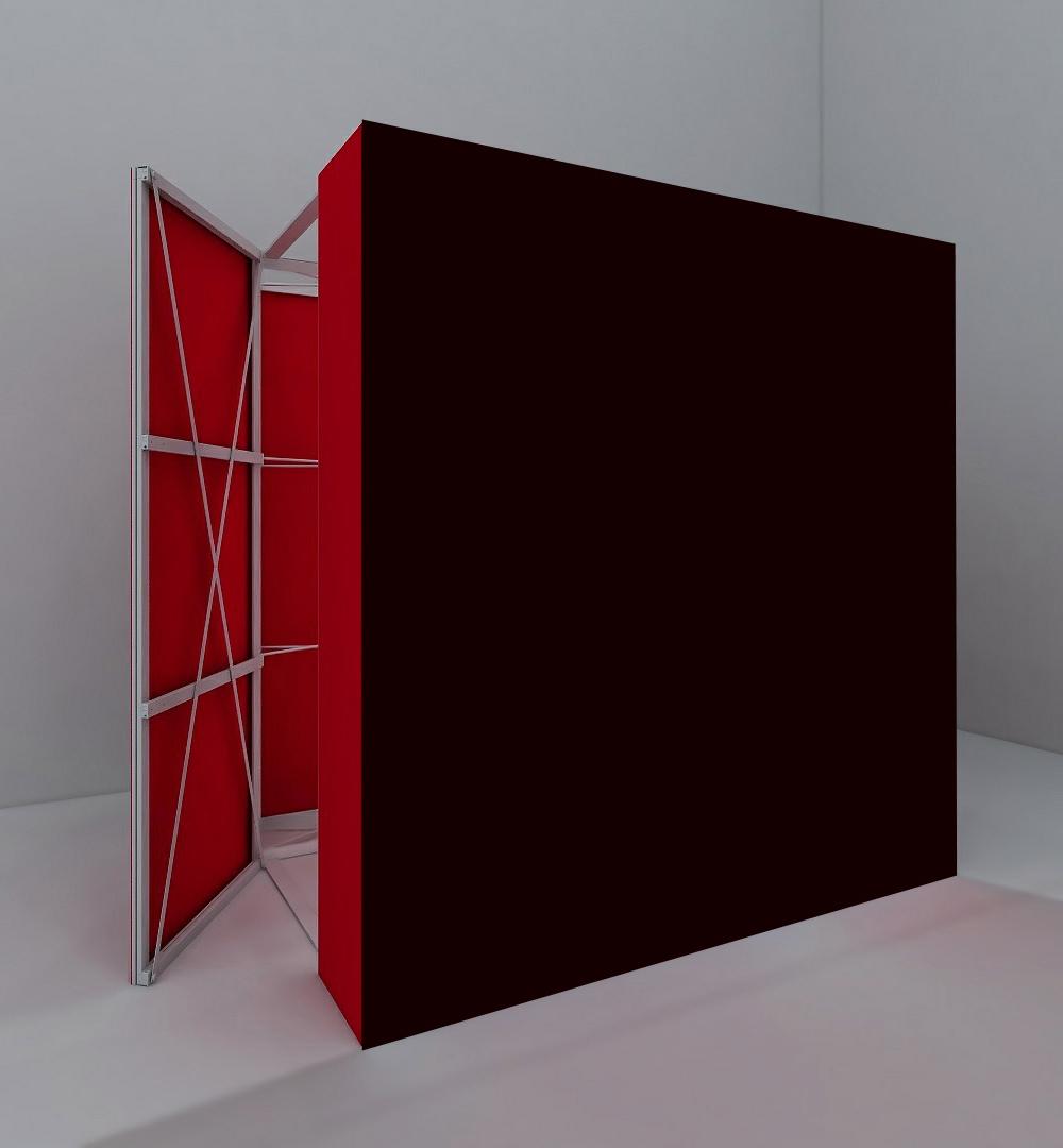 Faltdisplay Pop-Up MODULAR gerade - Tür