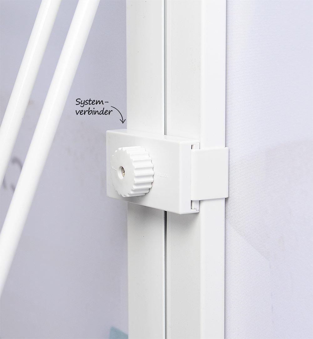 Faltdisplay Pop-Up MODULAR gerade - Systemverbinder