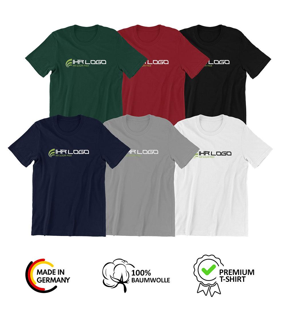 Team T-Shirt Logo Print - Damen