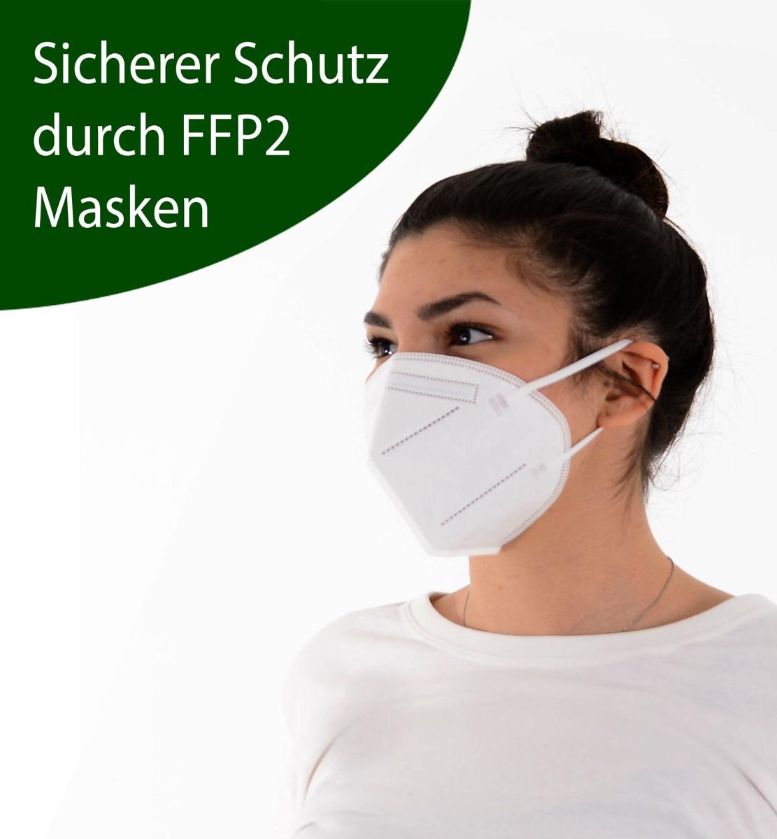 FFP2 Atemschutzmaske (20Stk)