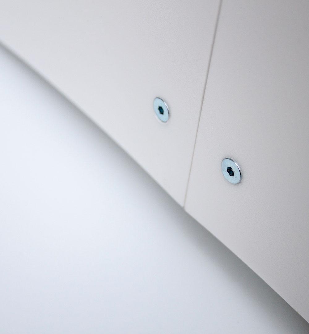 Flux Bistrotisch Beleuchtet - Faltkante