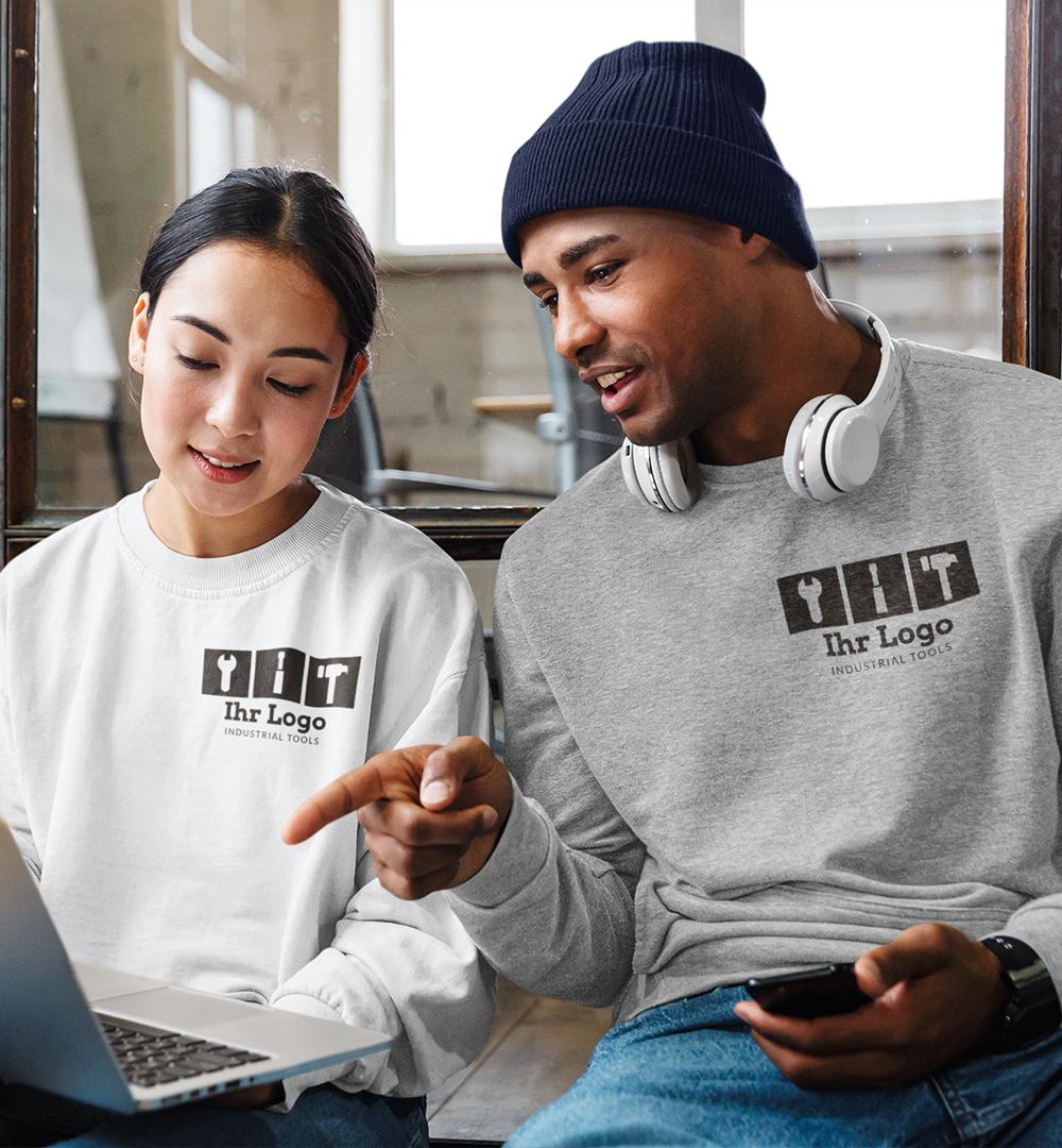 Team Sweatshirt Logo Print - Unisex