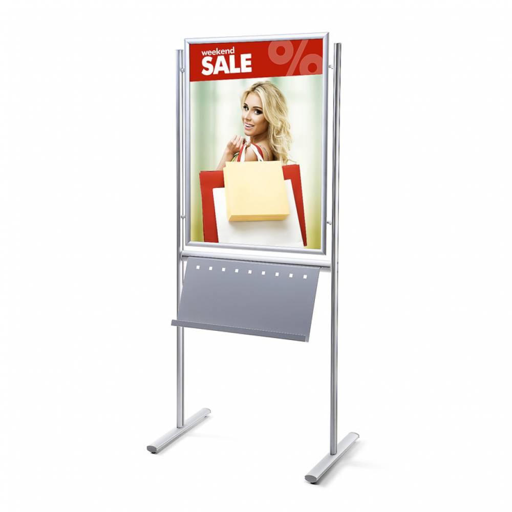 Infoboard Posterständer - Musterbeispiel