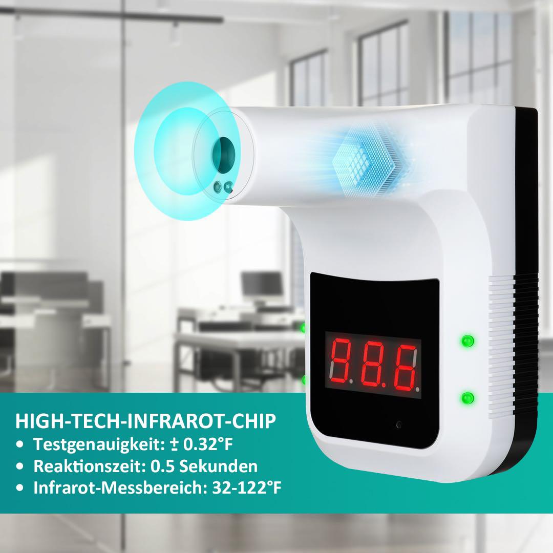 Desinfektionsständer Q Thermo mit Sensor Infrarot