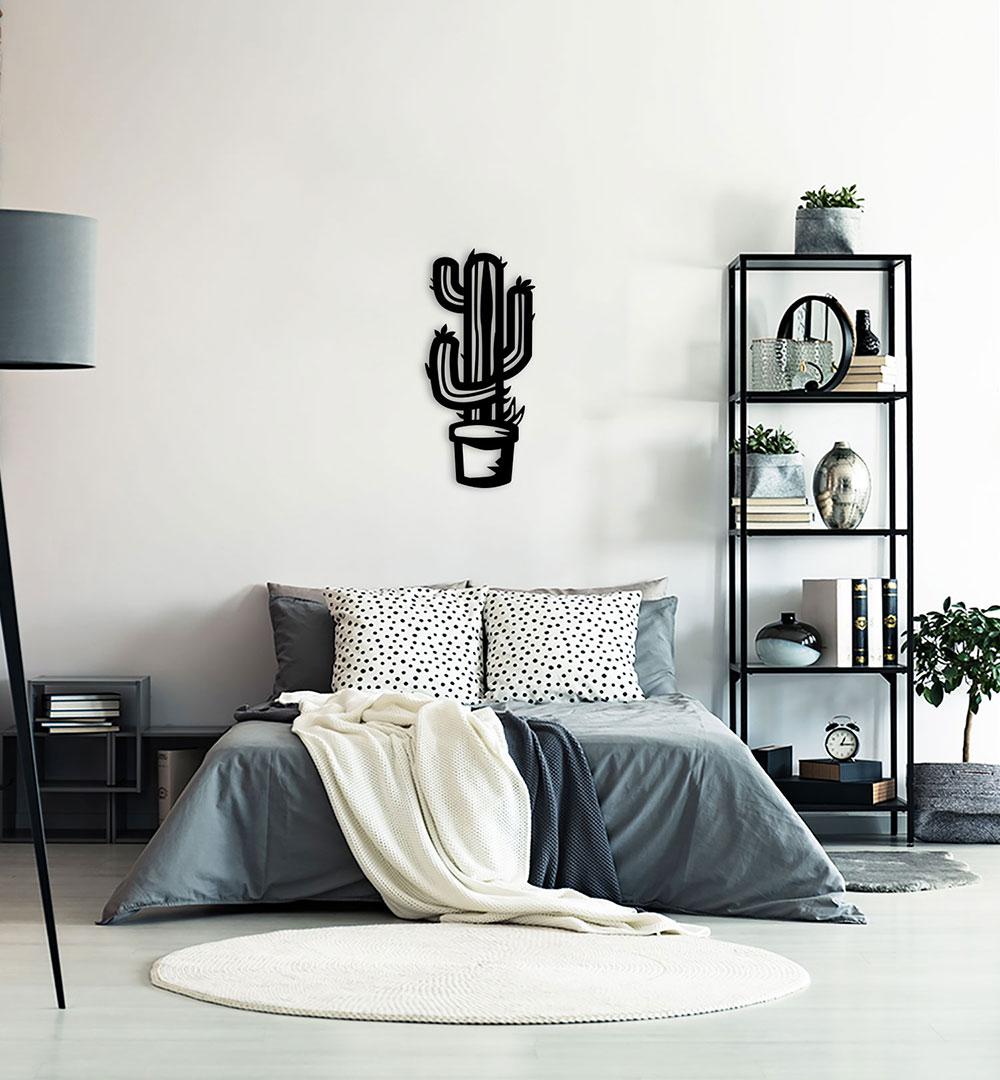Wall Art Acryl Kaktus
