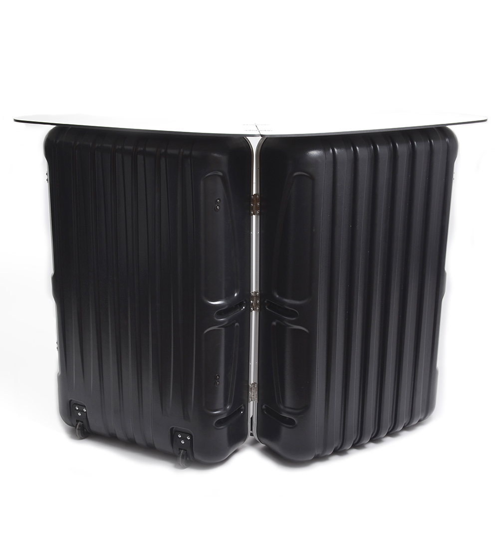 Koffertheke - Gestell mit Thekenplatte