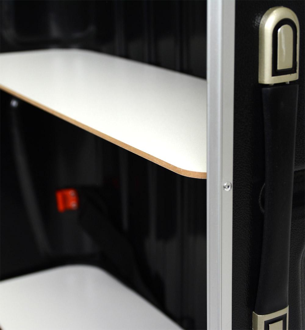 Koffertheke - Zwischenboden einsetzbar