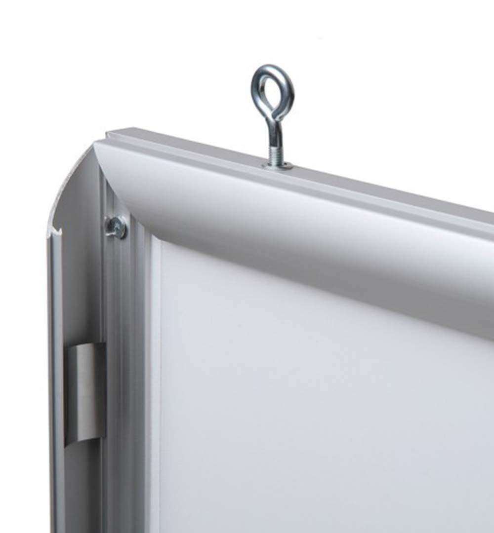 LED-Klapprahmen einseitig - Aufhängeset