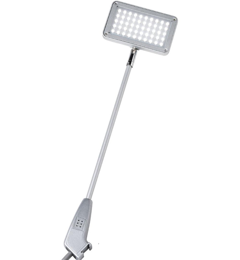 LED Strahler Faltsysteme-silber-LED Strahler (50 LEDs)