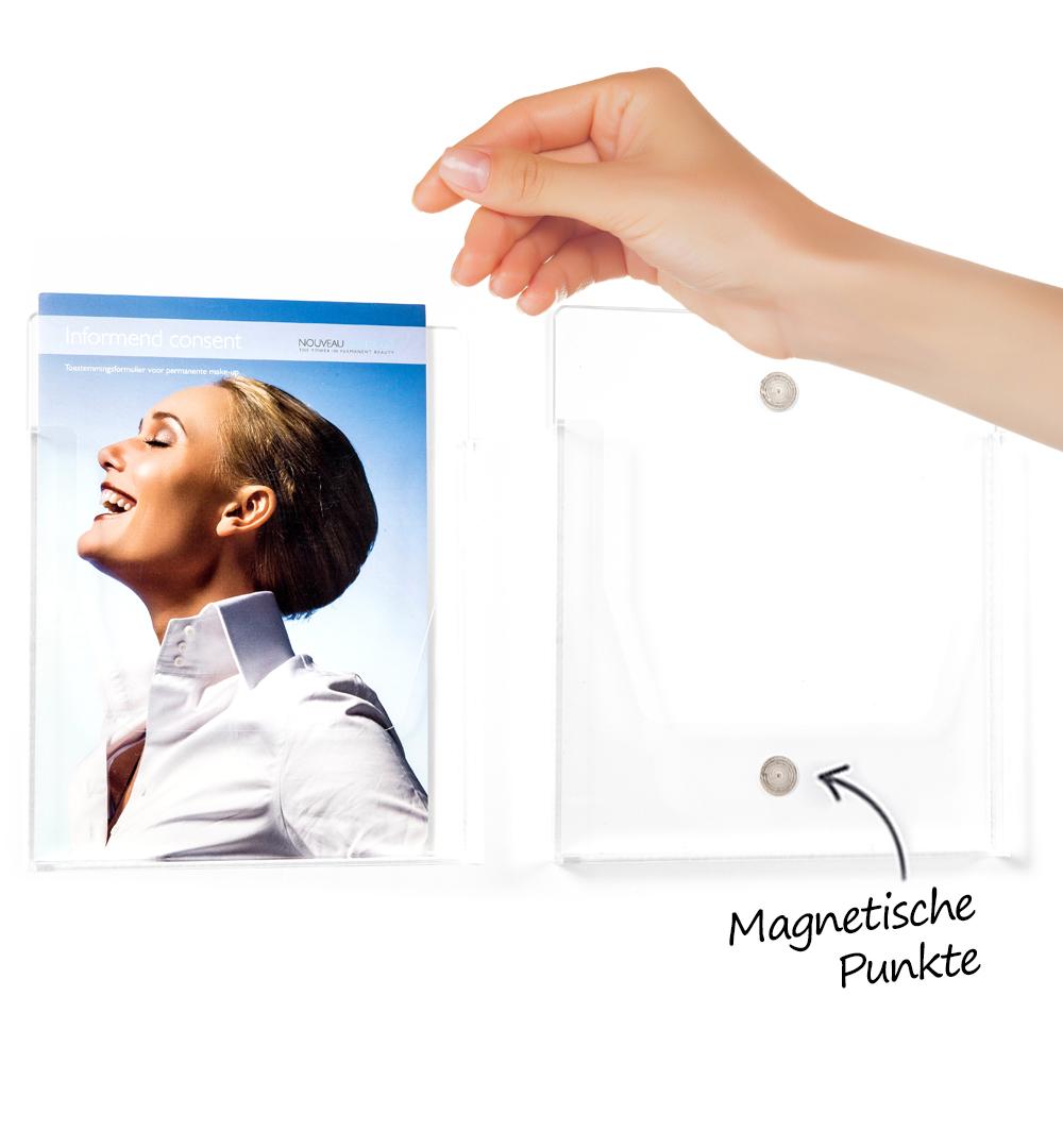 Magnet Prospekthalter - live