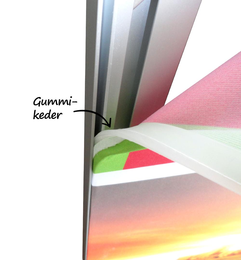 Messeset 501 - Faltwand Maxxiframe Gummikeder