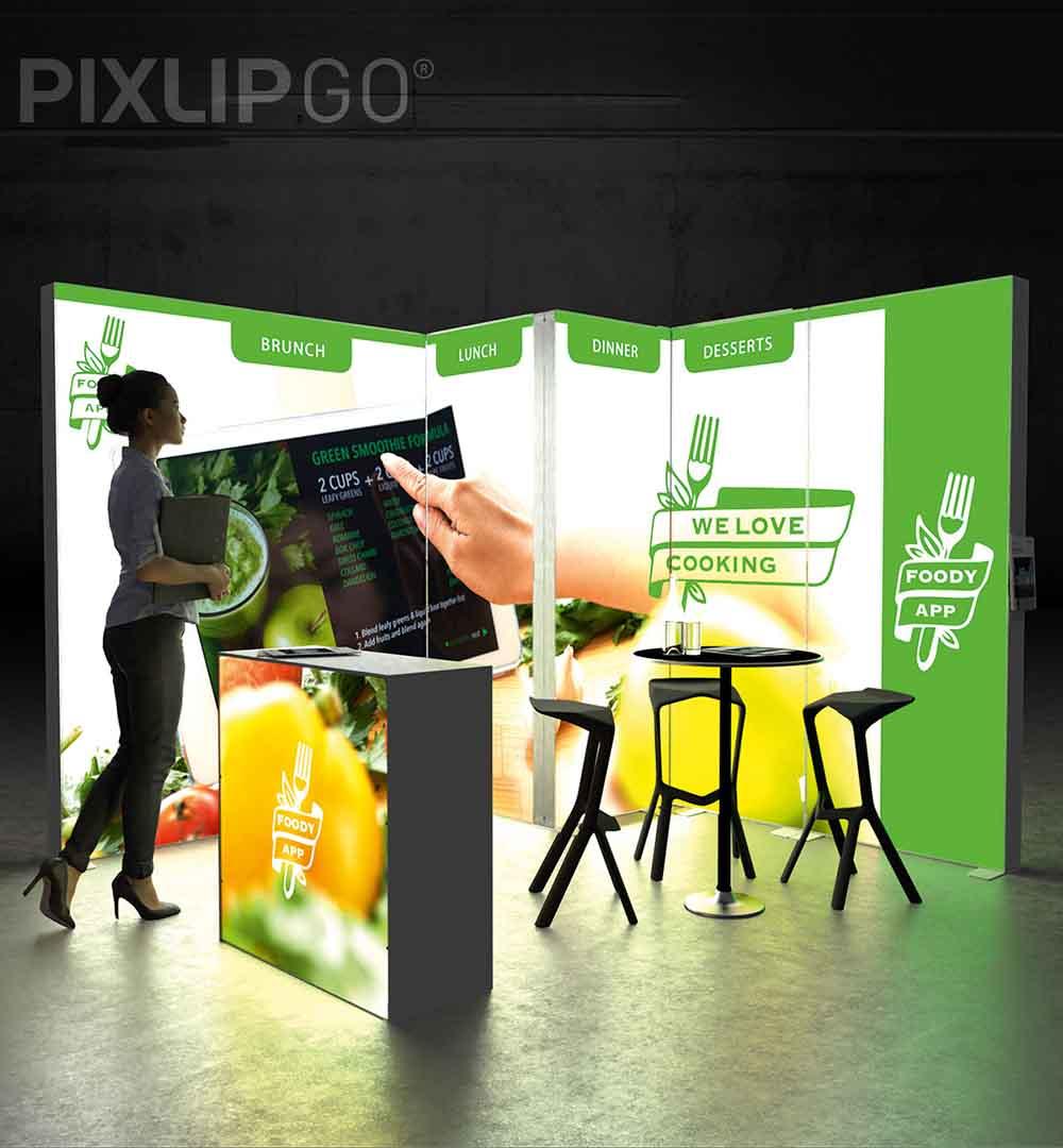 Messestand PIXLIP GO 17