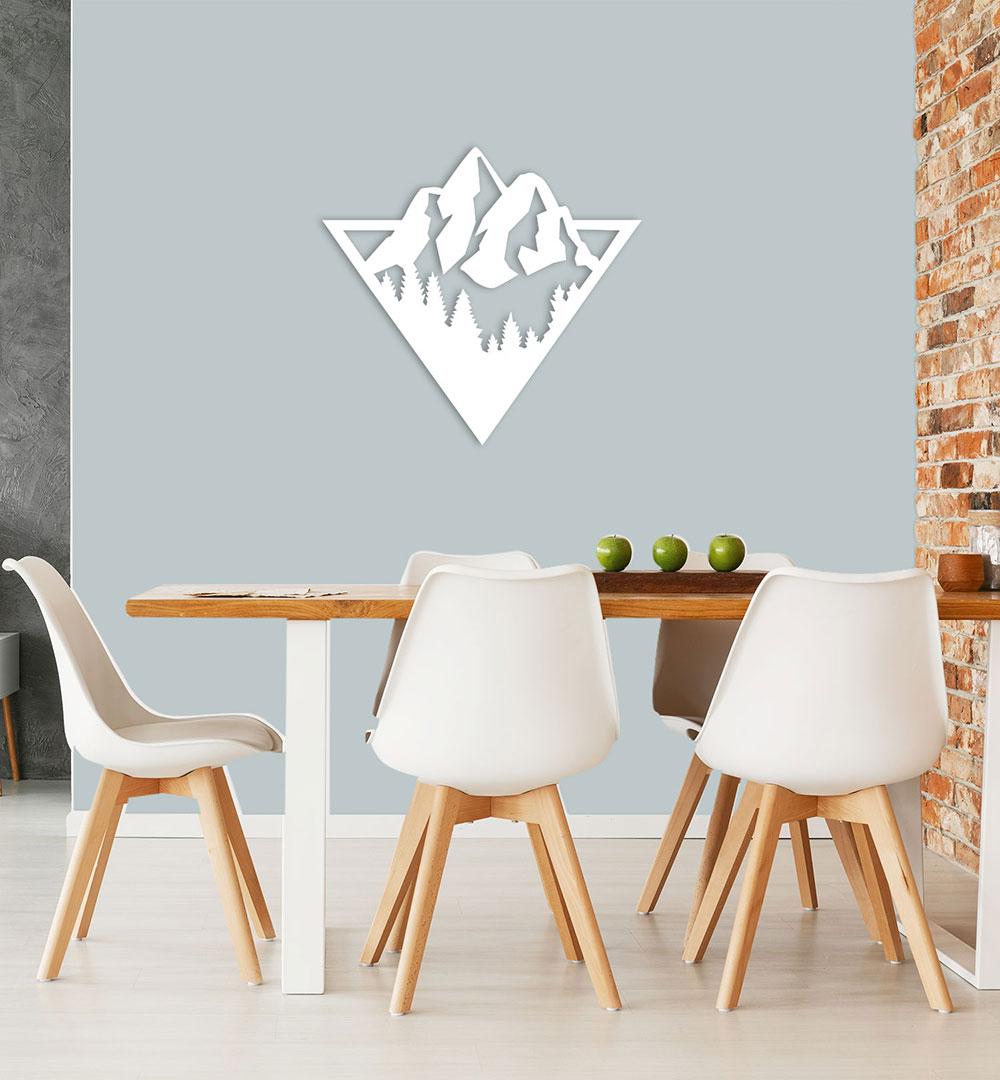 Wall Art Acryl Berge