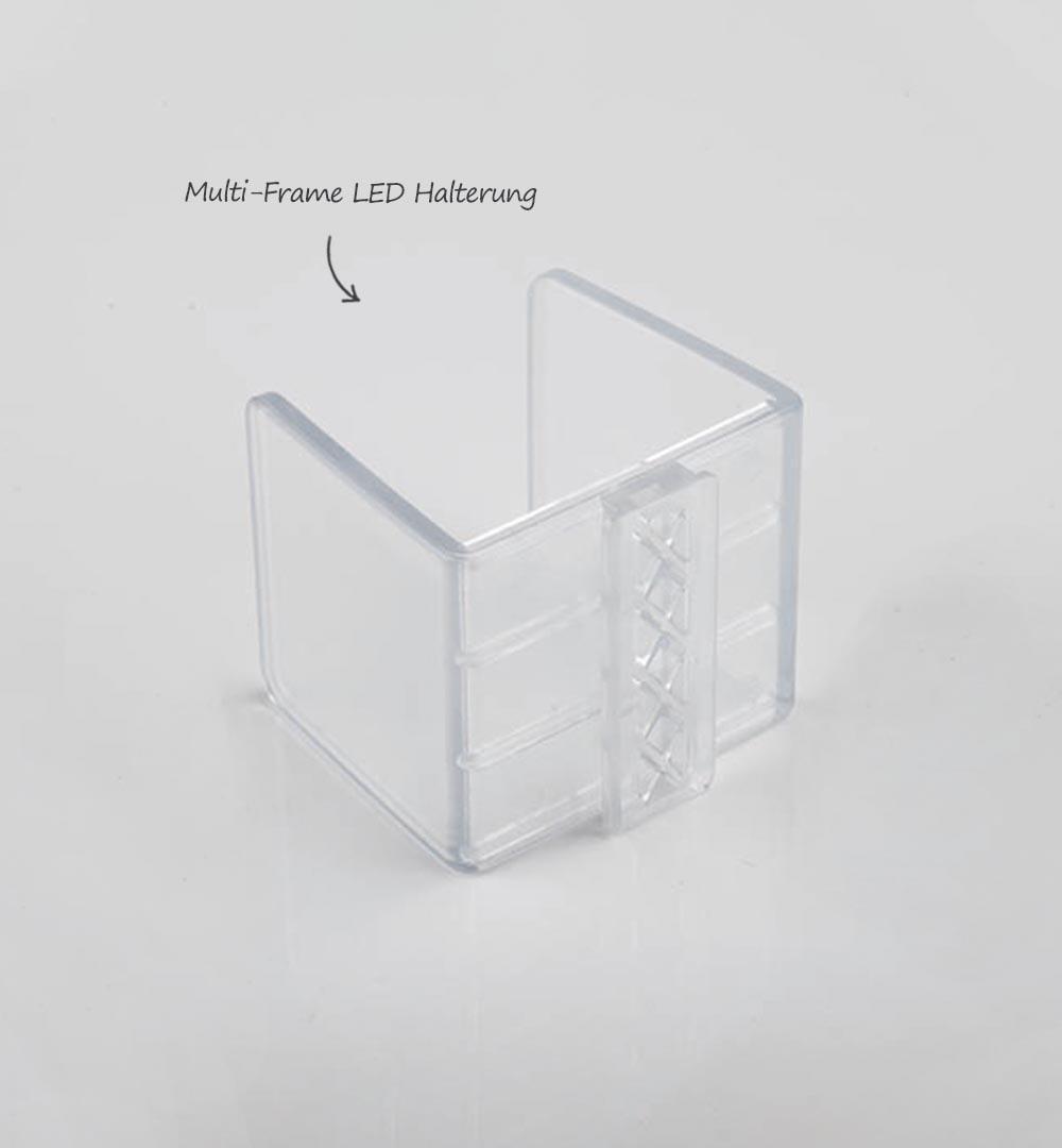 Messestand Multi-Frame - LED Halterung