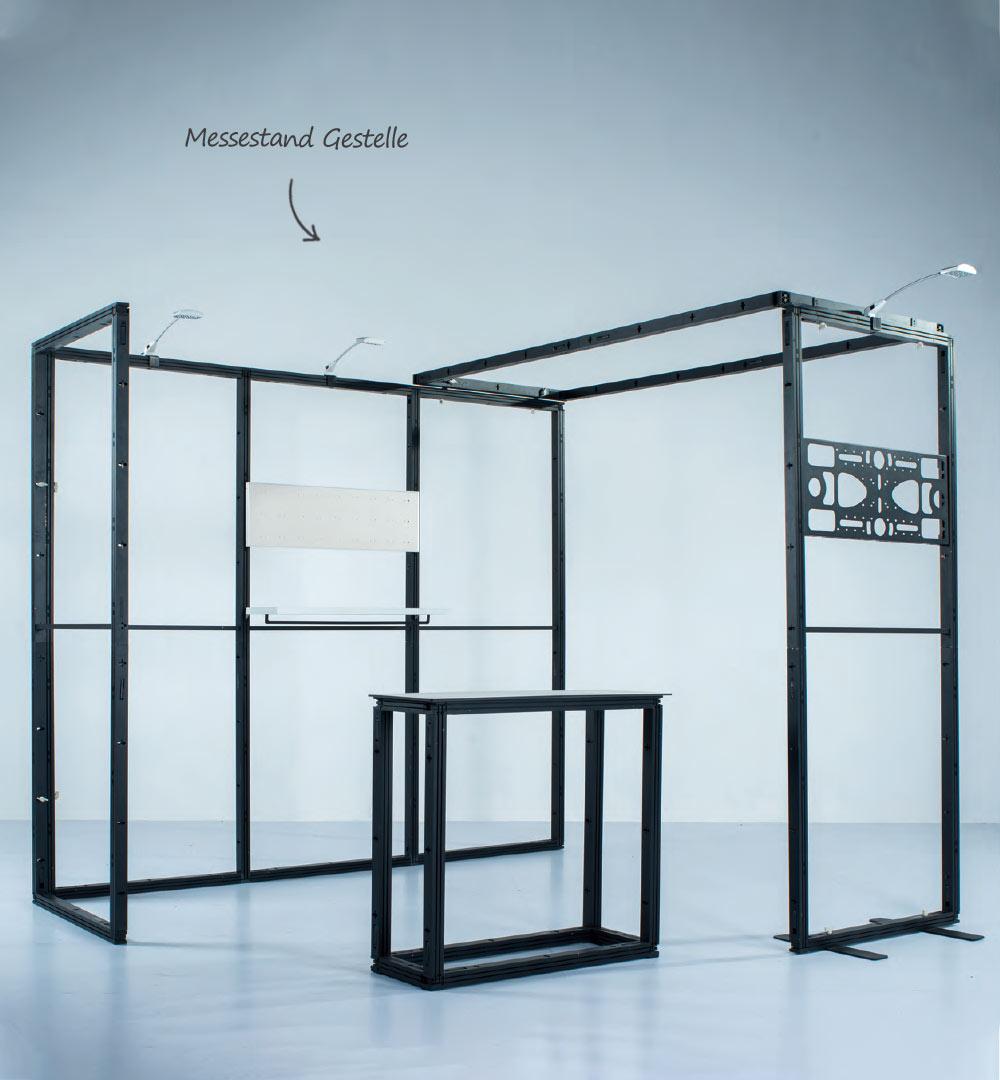Messestand Multi-Frame - Messestand + Theken Gestell