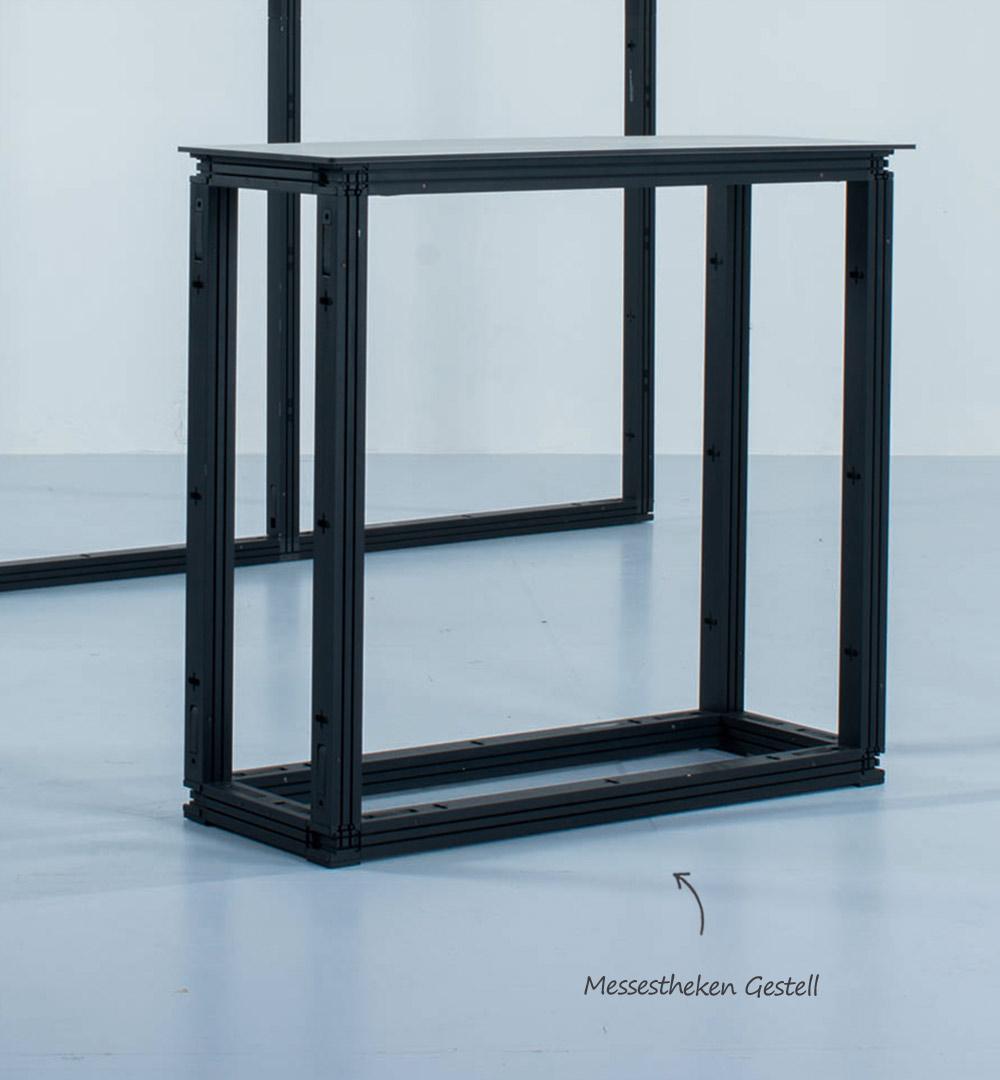 Messestand Multi-Frame - Theken Gestell