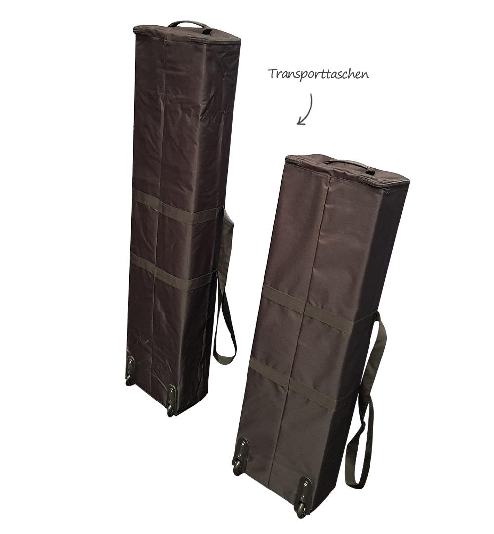 Messestand Multi-Frame - Transporttaschen