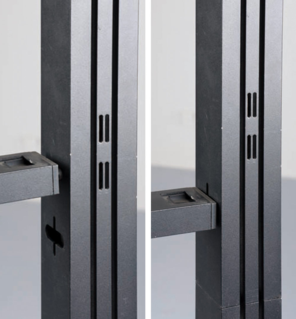Messestand Multi-Frame - Verbindung Steckprofil 2