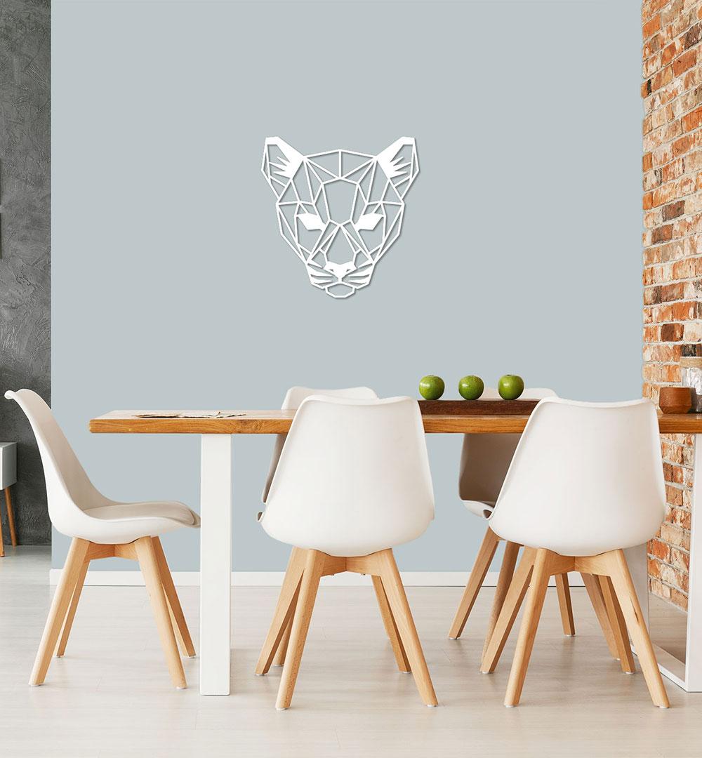 Wall Art Acryl Polygon Panther
